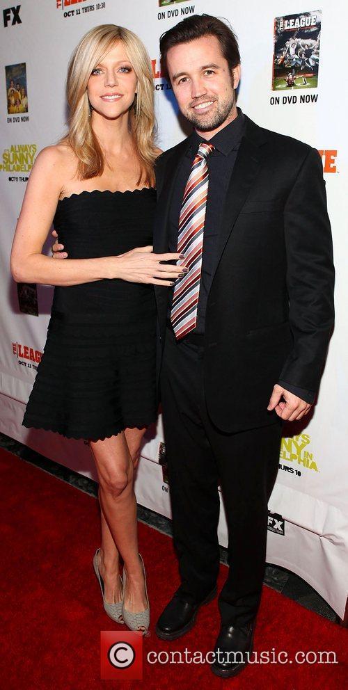 Rob Mcelhenney and Kaitlin Olson 2