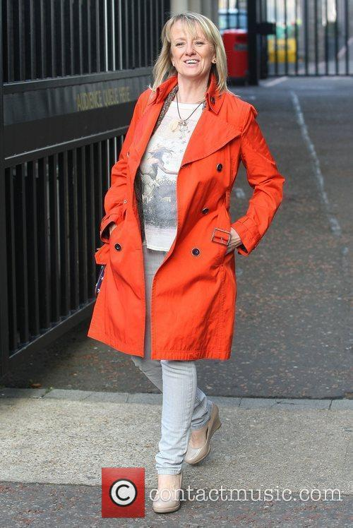 Victoria Alcock at the ITV studios London, England