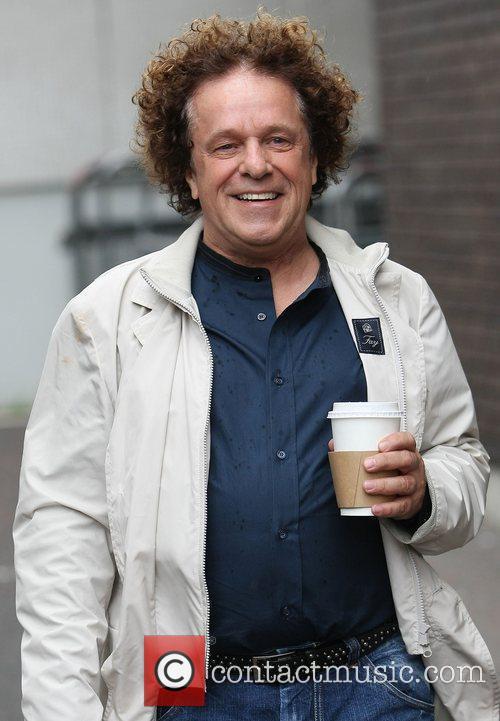 Leo Sayer at the ITV studios London, England