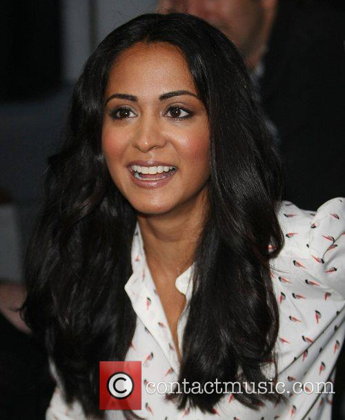 Parminder Nagra at the ITV studios London, England