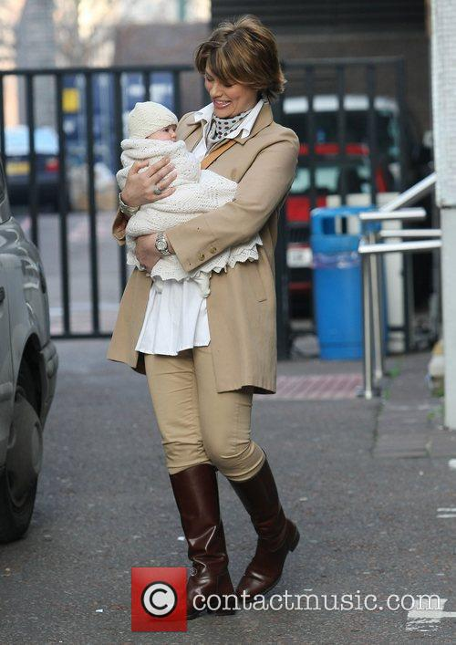 kate silverton with her daughter clemency at 3716120