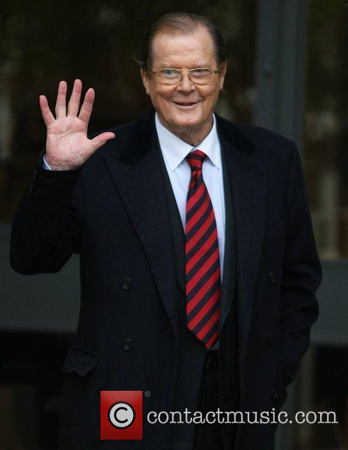 Roger Moore and Itv Studios 5