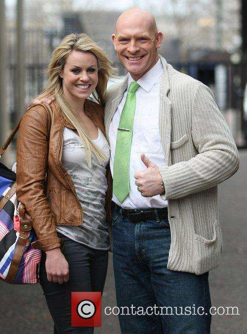 Chemmy Alcott and Sean Rice at the ITV...