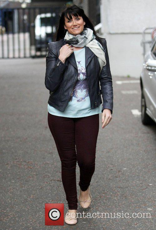 Dawn Steele at the ITV studios London, England