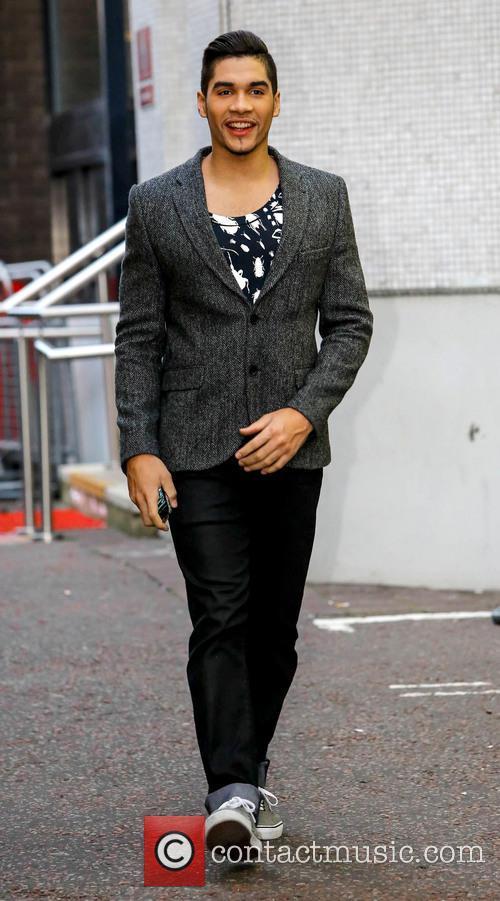 Louis Smith Celebrities at the ITV studios...