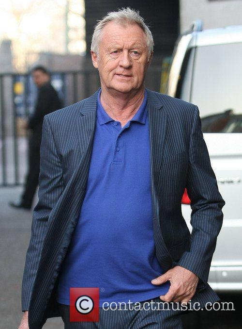 Chris Tarrant outside the ITV studios