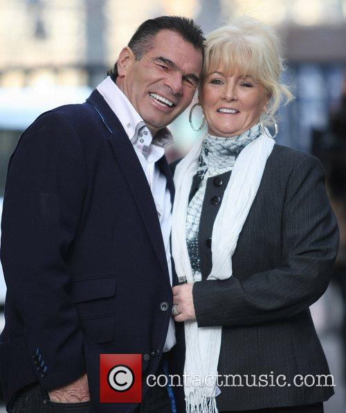 Paddy Doherty and his wife Rosemary outside the...