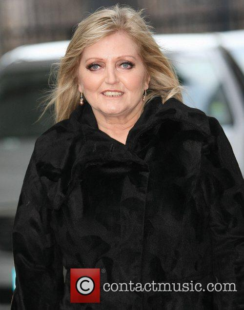 Linda Nolan at the ITV studios London, England