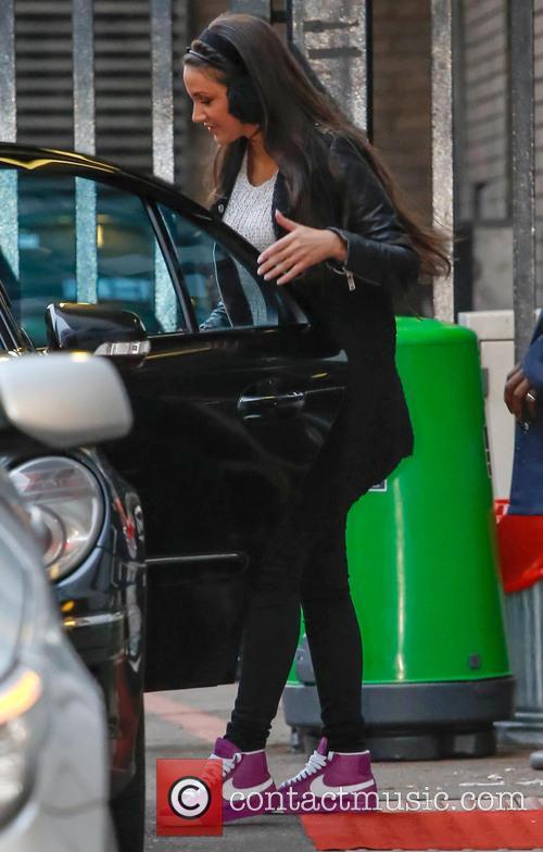 Michelle Keegan Celebrities at the ITV studios...
