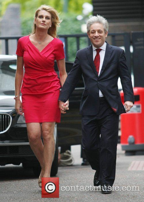 Sally Bercow and John Bercow at the ITV...