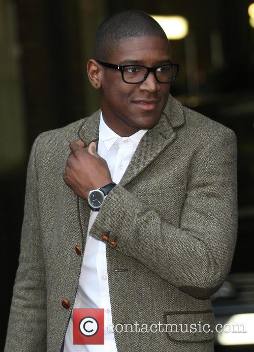 celebrities at the itv studios featuring labrinth13where 20002657