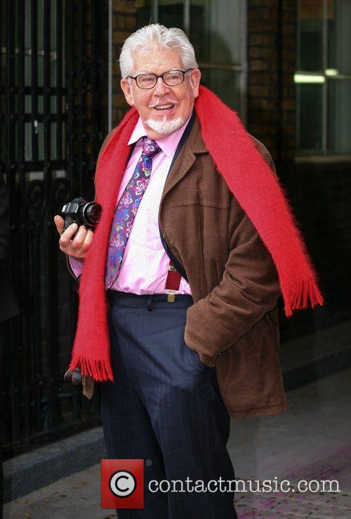 Rolf Harris at the ITV studios London, England
