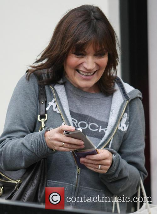 Celebrities at the ITV studios  Featuring: Lorraine...