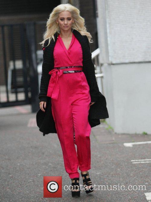 Kimberly Wyatt at the ITV studios London, England