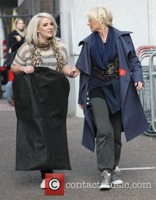 Claire Richards, Faye Tozer, Steps and Itv Studios 1