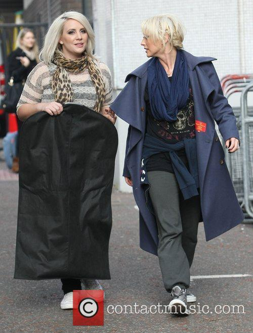 Claire Richards, Faye Tozer, Steps and Itv Studios 4