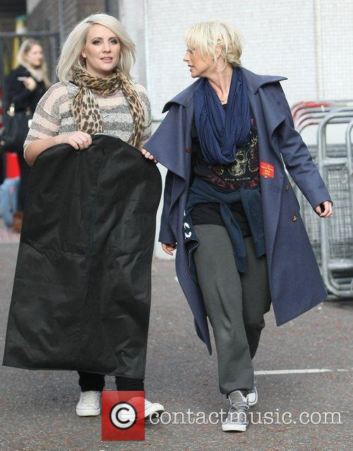 Claire Richards, Faye Tozer, Steps and Itv Studios 5