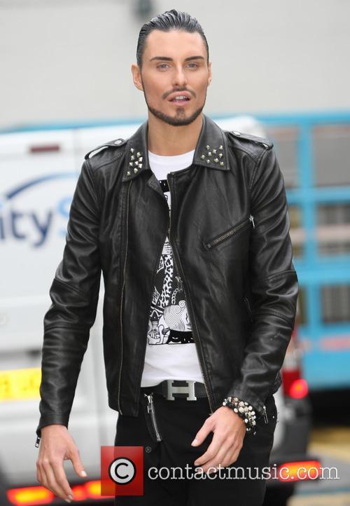 Celebrities at the ITV studios  Featuring: Rylan...