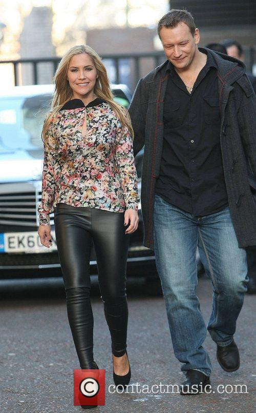 Heidi Range and Andrei Lipanov at the ITV...