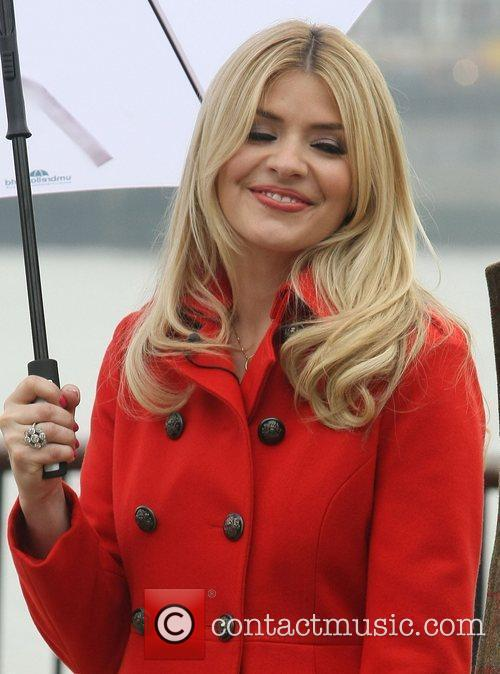 Holly Willoughby at the ITV studios London, England