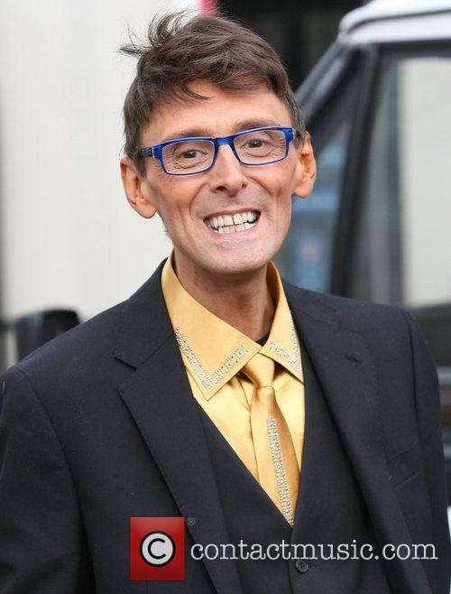Johnny Robinson at the ITV studios London, England