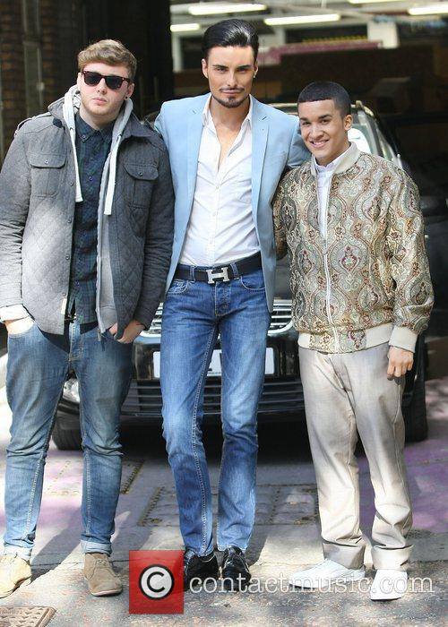 X Factor, James Arthur, Rylan Clark, Jahmene Douglas and Itv Studios 1