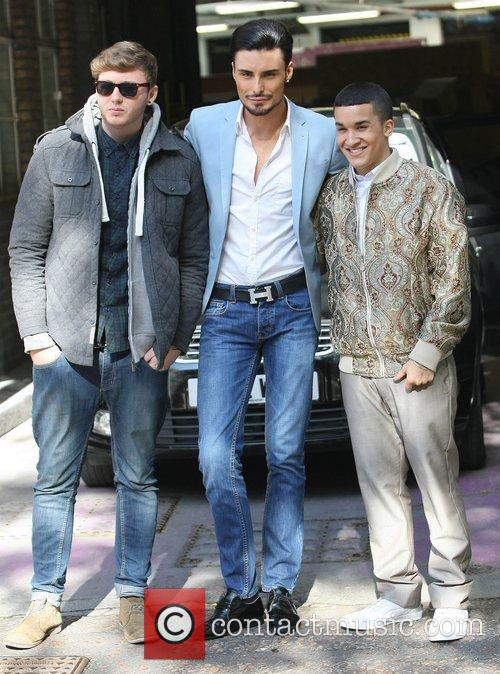 X Factor, James Arthur, Rylan Clark, Jahmene Douglas and Itv Studios 5