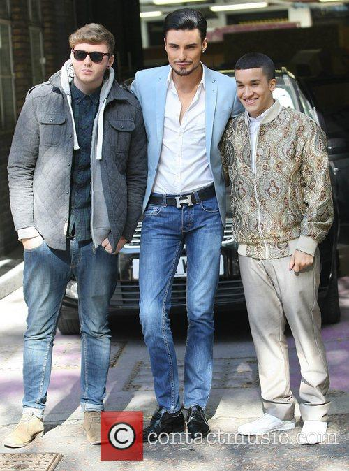 X Factor, James Arthur, Rylan Clark, Jahmene Douglas and Itv Studios 4