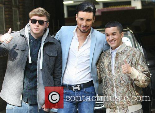 X Factor, James Arthur, Rylan Clark, Jahmene Douglas and Itv Studios 2