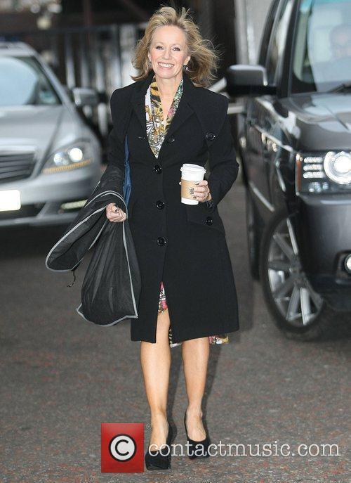 Karen Barber at the ITV studios  London,...