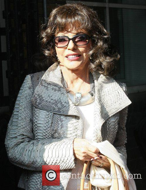 Joan Collins and Itv Studios 7