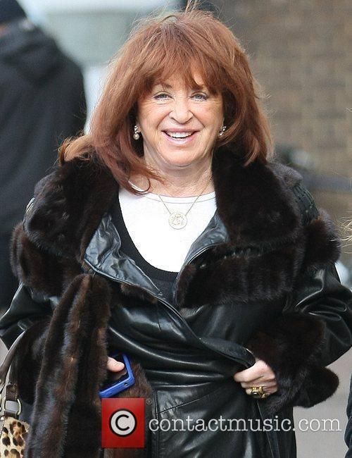 Lynda La Plante outside the ITV studios London,...