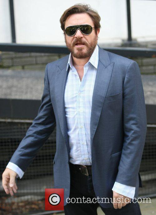 Simon Le Bon at the ITV studios London,...