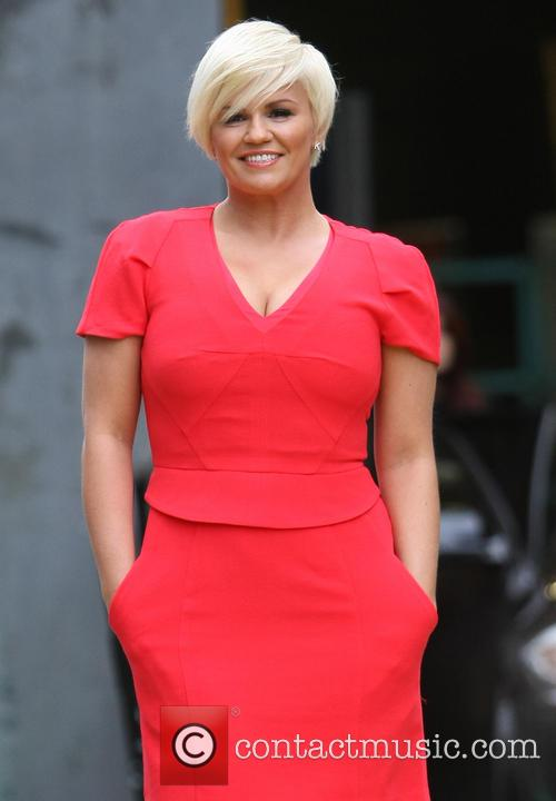Celebrities at the ITV studios  Featuring: Kerry...
