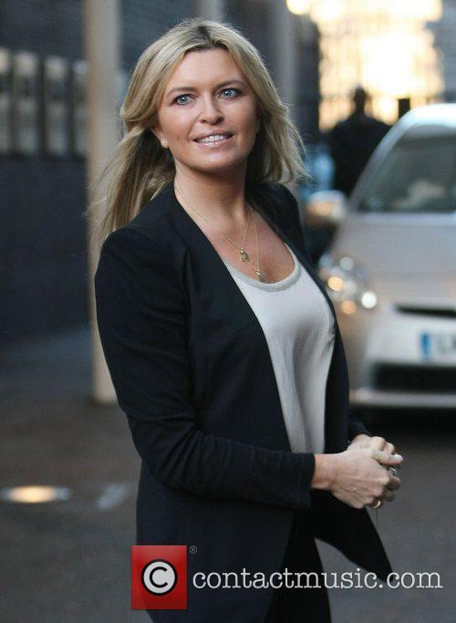 Tina Hobley at the ITV studios London, England