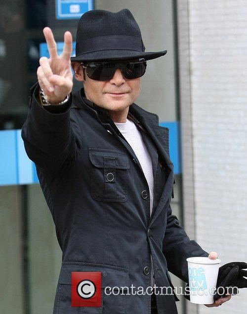 corey feldman leaves the itv studios london 3708241