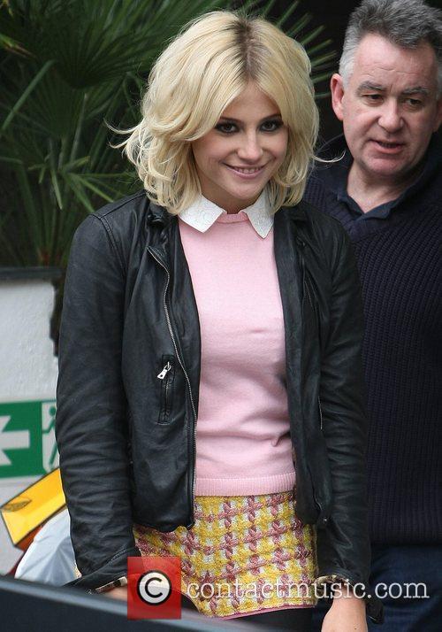 Pixie Lott leaves the ITV studios London, England
