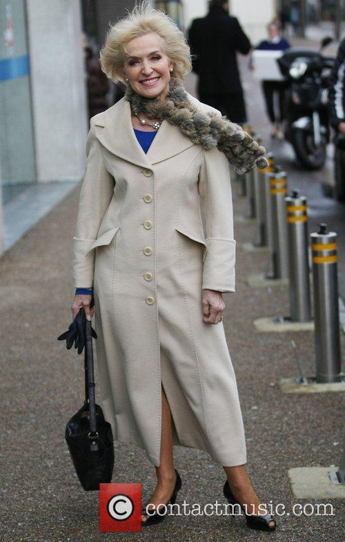 Rosemary Conley at the ITV studios London, England