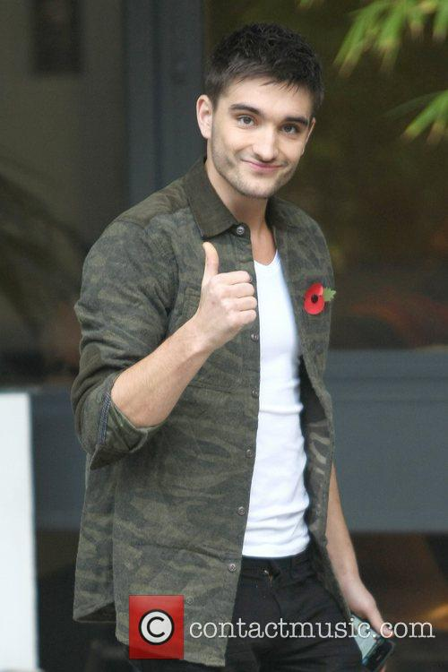 Tom Parker, The Wanted and Itv Studios 1