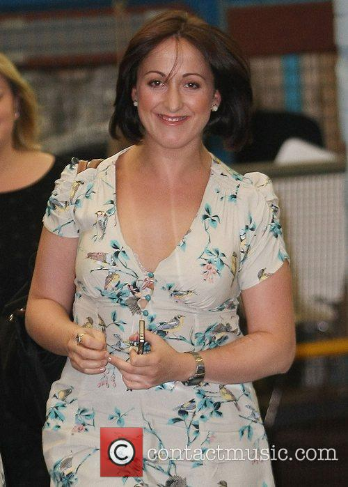 Natalie Cassidy at the ITV studios London, England