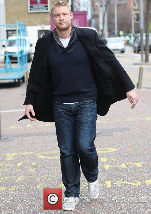 Freddy Flintoff at the ITV studios  London,...
