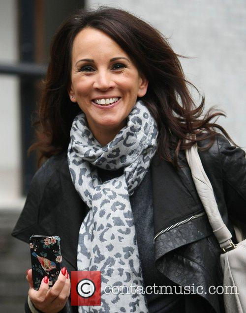 Andrea McLean at the ITV studios London, England