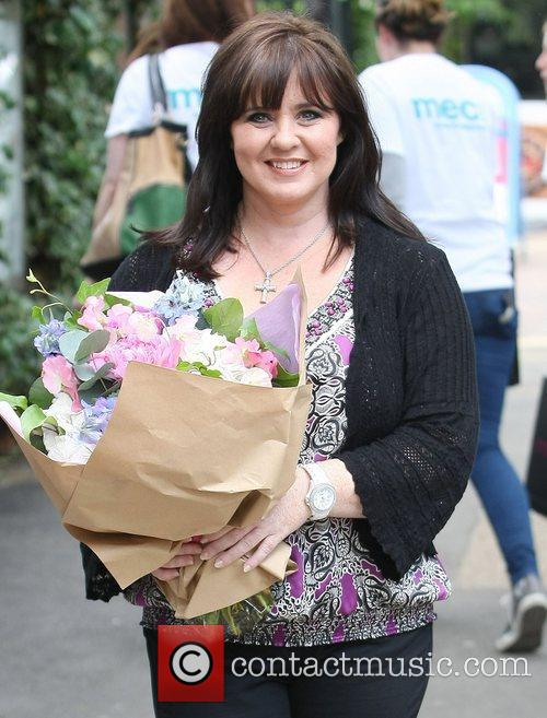Coleen Nolan at the ITV studios London, England