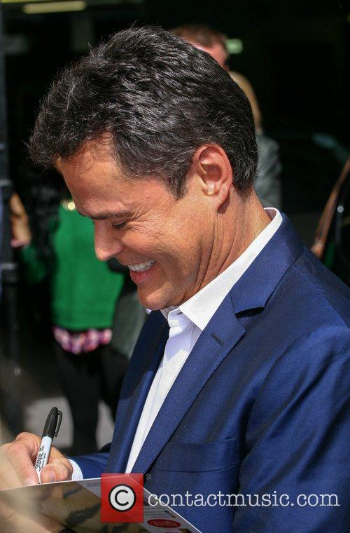 Donny Osmond at the ITV studios