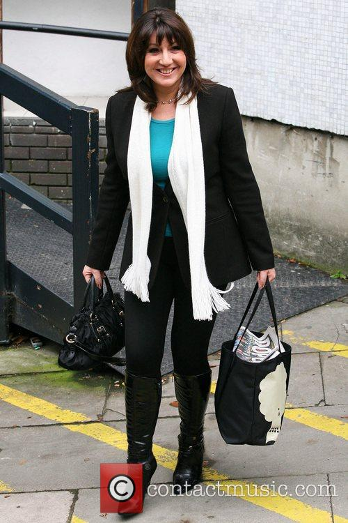 Jane McDonald Celebrities at the ITV studios London,...
