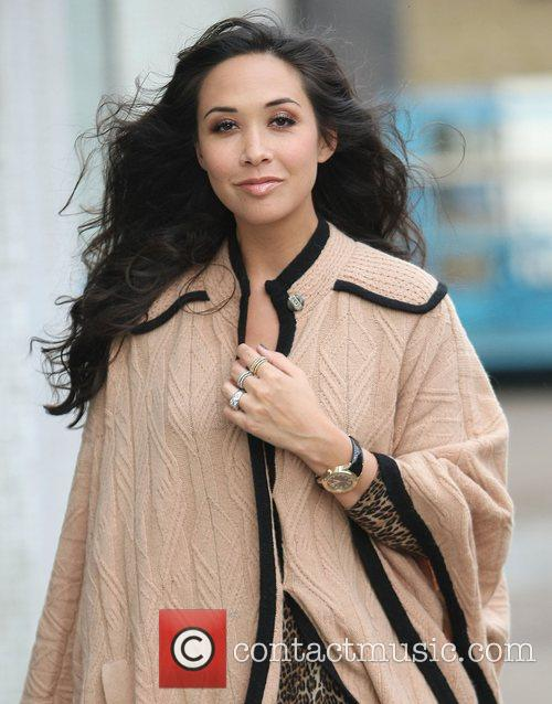 Myleene Klass at the ITV studios London, England