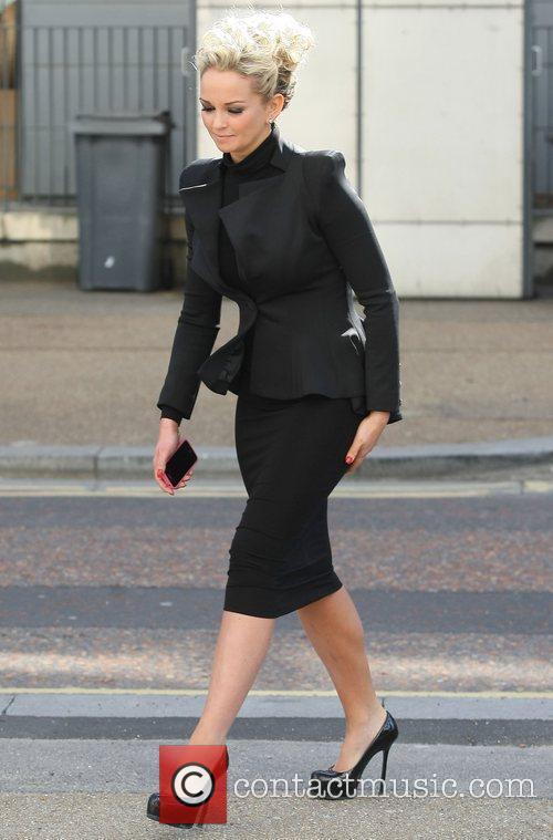 Jennifer Ellison at the ITV studios London, England