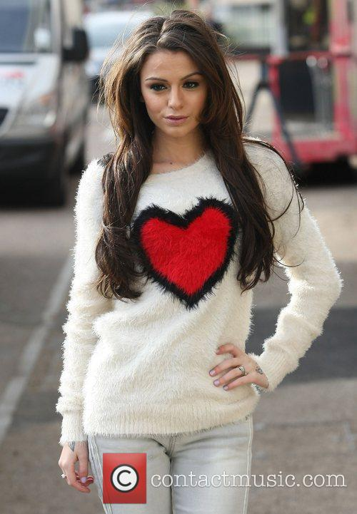Cher Lloyd at the ITV studios London, England