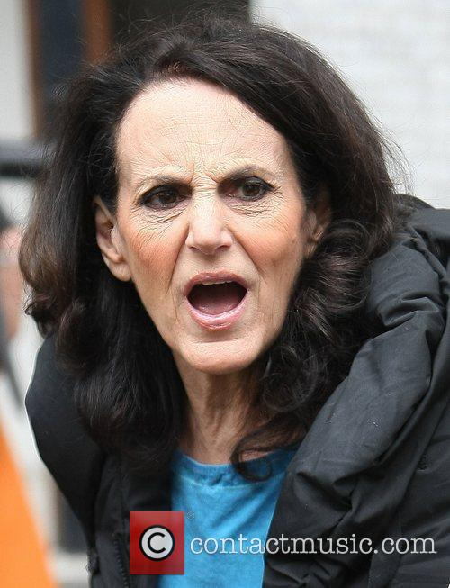 Lesley Joseph at the ITV studios London, England