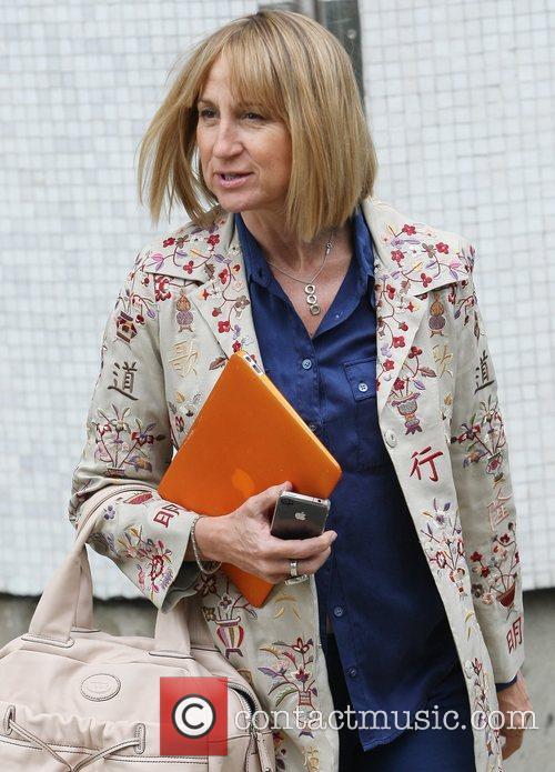 Carol McGiffin at the ITV studios  London,...